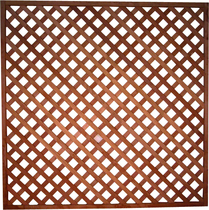 Felixwood | Trellis 17 | Bangkirai | Diagonaal | 180 x 180 cm