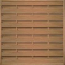 Felixwood | Plankenscherm hardhout | Horizontaal