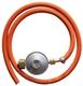 OneQ Gasslang + gasdrukregelaar | T.b.v. One Q inbouwmodellen
