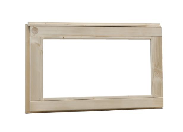 Woodvision | Vast raam met melkglas