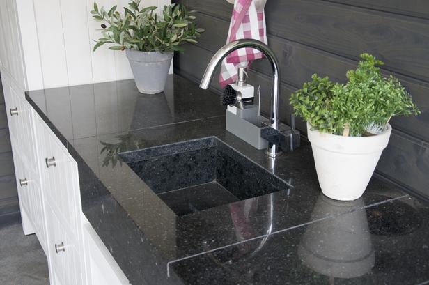 Trendhout | Granieten wasbak