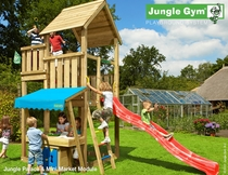Jungle Gym | Palace + Mini Market Module | DeLuxe | Blauw