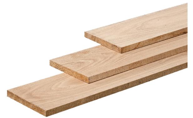 Eiken plank mm cm