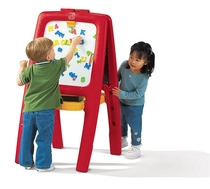 Step2 | Red Easel For Two - 1 pk