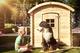 Woodvision | Speelhuisje Wende |  Rond dak