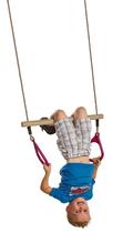 KBT | Trapeze met kunststof ringen | Rood