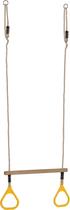 KBT | Trapeze met kunststof ringen | Geel