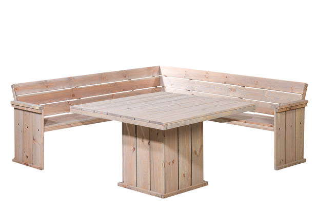 Woodvision | Lounge hoekbank Yasmine | 210 x 210