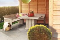 Woodvision   Lounge set white wash