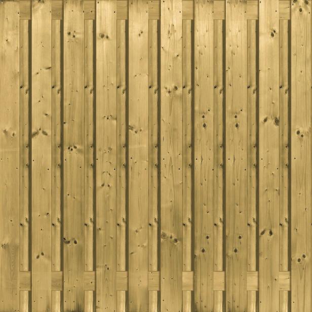 Jumboscherm | 21-planks | 180 x 180 cm | Geen inkijk