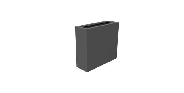 Aluminium bloembak Florida | 90 x 30 x 80 cm