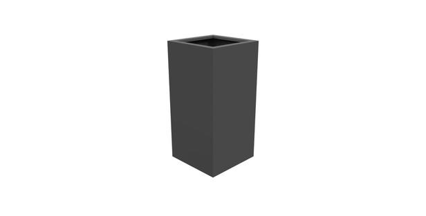 Aluminium bloembak Florida   50 x 50 x 100