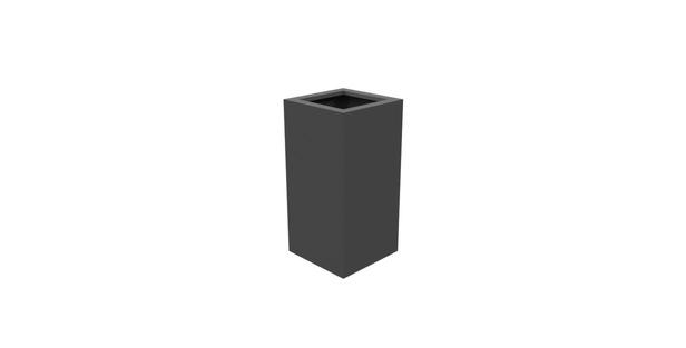 Aluminium bloembak Florida | 40 x 40 x 80