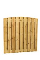 Plankenscherm grenen | Verticaal 19-planks | 180 x 180 cm | Toog