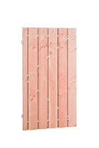 Douglas plankendeur op stalen frame | Geschaafd | Blank