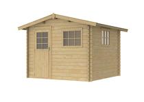 Woodvision | Blokhut Rhone 172 | Geimpregneerd-groen
