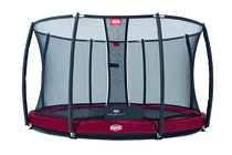 BERG InGround Elite+ 430 Tattoo Rood + Safety Net T-series