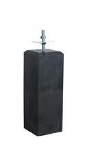 Woodvision | Betonpoer Antraciet | 18 x 18cm voor paal 14-15 cm