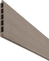 SeriAL | WPC Rabatplank voor Aluminium Scherm | Multigrey Light
