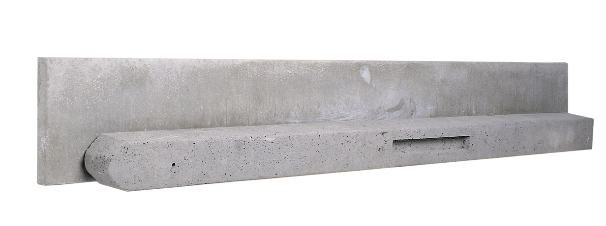 Betonplaat grijs | Basic | 25x3.5x225 cm