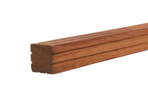 Hardhouten paal | Azobe | 65 x 65 mm | 275 cm