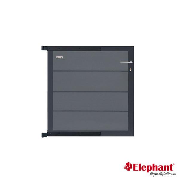 Elephant | Tuindeur Modular | 90x97 cm | Rock Grey/Antraciet