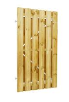 Plankendeur grenen | verstelbaar frame | 100 x 180 cm