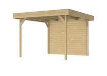 Woodvision | Veranda Grasshopper | Achterwand 294 cm
