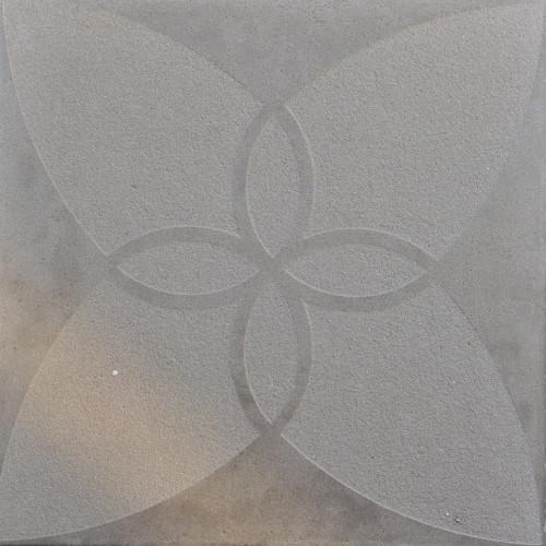 Excluton   Optimum Decora 60x60x4 cm iris   Silver