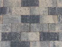 Kijlstra | Betonstraatsteen 21x10.5x6 | Grijs/zwart