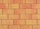 Kijlstra | Betonstraatsteen 21x10.5x6 | Terracotta/geel