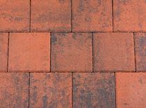 Kijlstra | Dubbelklinker 21x21x6 | Rood/zwart