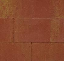 Kijlstra | Straksteen 20x30x5 | Terracotta/geel