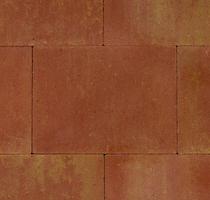 Kijlstra | Straksteen 40x30x6 | Terracotta/geel