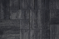 Kijlstra   H2O Excellent Reliëf Small Mixed Wildverband   Nero Grey Emotion