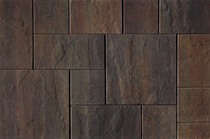 Kijlstra | H2O Excellent Reliëf Square 60x60x5 | Cloudy Brown Emotion