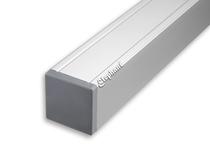Elephant | Aluminium paal/kap | Aluminium | 88 x 88 mm lengte 272 cm