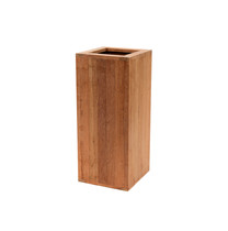 Woodvision | Hardhouten pilaar bloembak