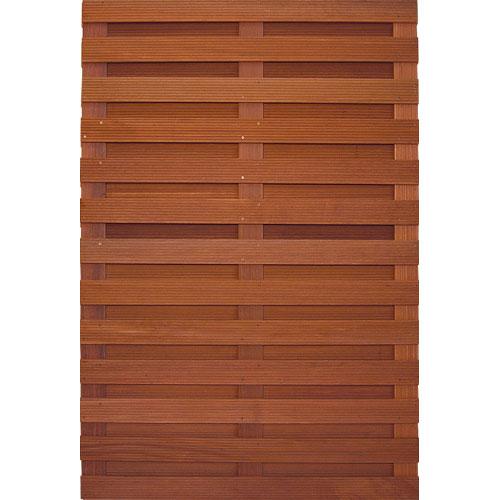 Felixwood | Robuust | Tuinscherm 1 Bangkirai | 180 x 180 cm