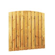 Toogplankenscherm grenen | Verticaal 21 planks