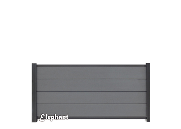 Elephant | Tuinscherm Modular | 180x97 cm | Rock Grey/Antraciet