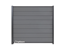 Elephant | Tuinscherm Modular | 180x180 cm | Rock Grey/Antraciet