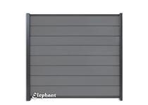 Elephant | Modular scherm Rock Grey/Antraciet | 180 x 180 cm