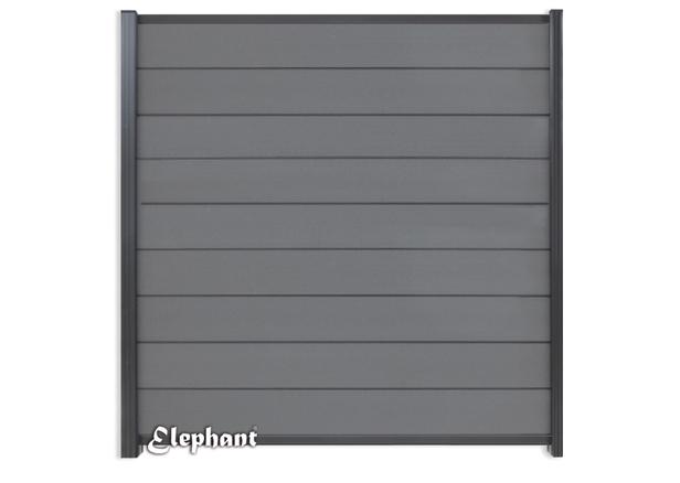 Elephant | Tuinscherm Modular | 180x200 cm | Rock Grey/Antraciet
