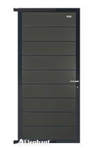 Elephant | Modular deur Rock Grey/Antraciet | 90 x 200 cm