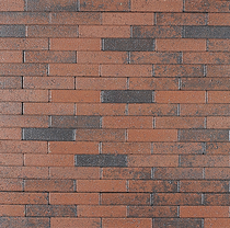 Excluton | Waalformaat 20x5x6 | Rood/zwart