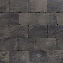 Excluton | Abbeystones 20x20x6 | Grijs/zwart