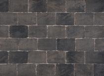 Excluton | Abbeystones 21x14x6 | Grijs/zwart