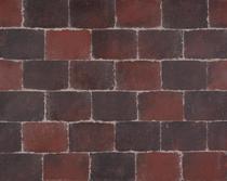 Excluton | Abbeystones 21x14x6 | Rood/zwart