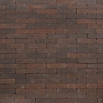 Excluton | Abbeystones Waalformaat 20x5x7 | Bruin/antraciet
